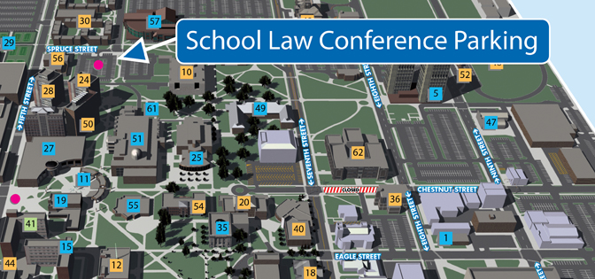 indiana state university campus map indiana map